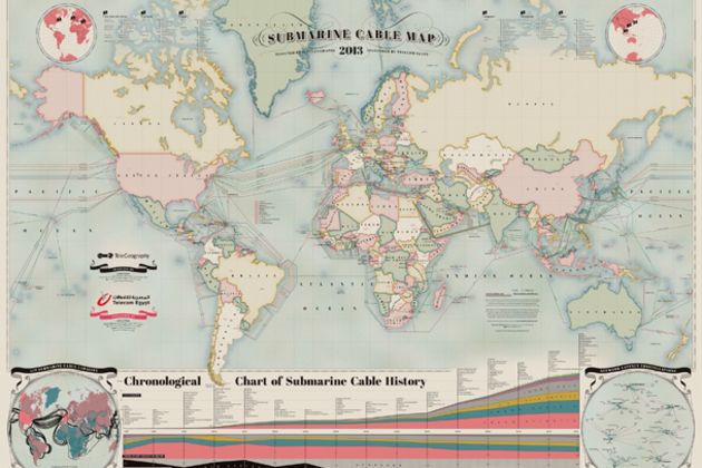 submarine cable map 2013 telegeography