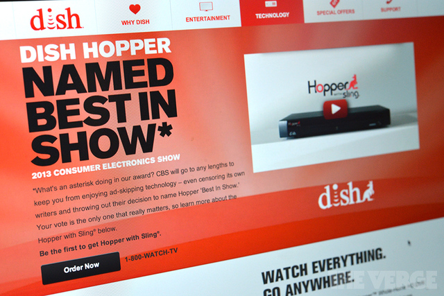 Dish Hopper CES Award (STOCK)