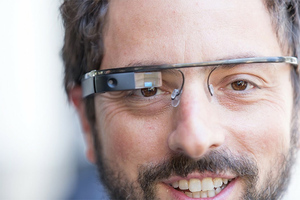 Google Glass Sergey Brin