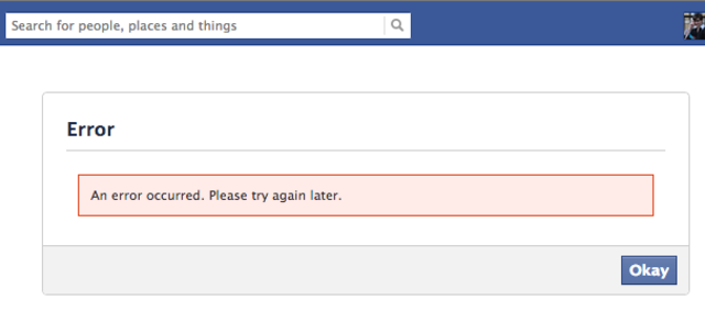 facebook bug