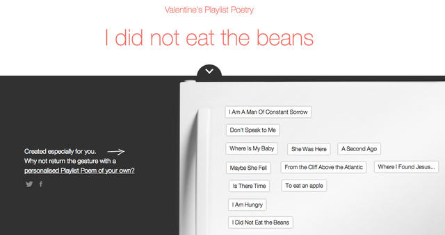spotify playlist poetry