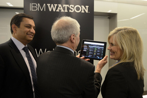 Watson medical iPad app