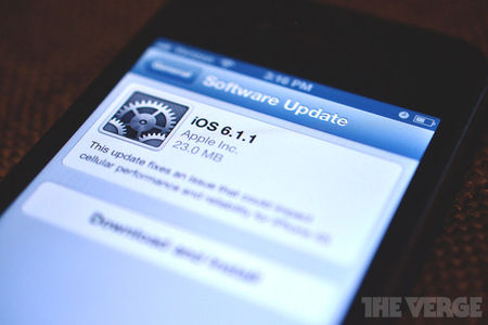 iOS 6.1.1 update