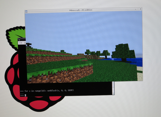minecraft pi edition