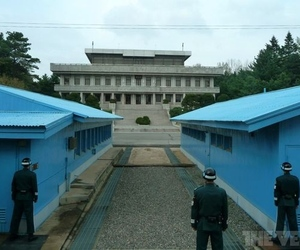 north south korea border