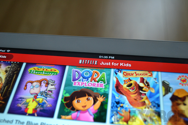 Netflix just for kids mode