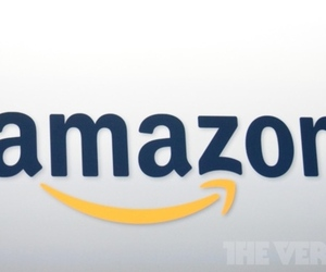 Amazon logo stock
