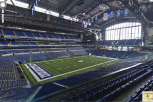 Google Maps NFL stadium tour