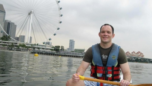 Photo of Shane Todd in Singapore