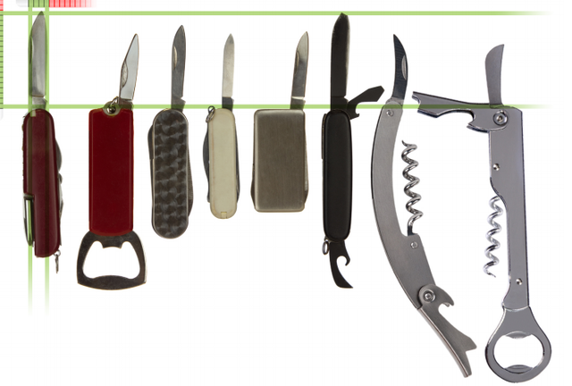 TSA-approved knives for carry on