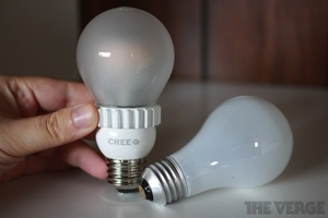 Gallery Photo: Cree LED light bulb hands-on pictures