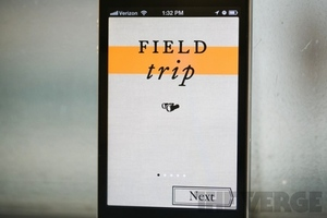 Field Trip iOS stock