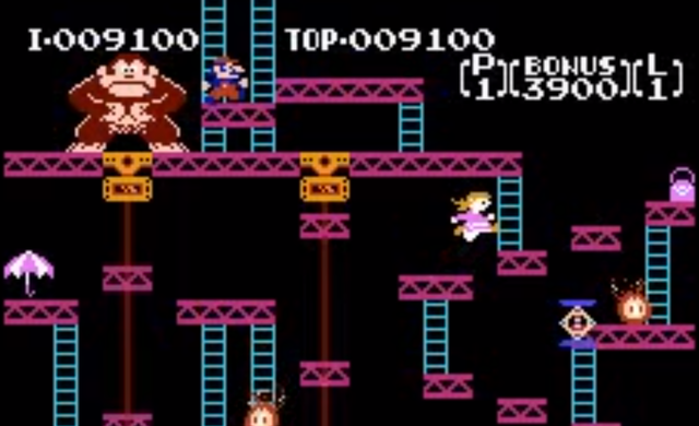 Pauline in Donkey Kong