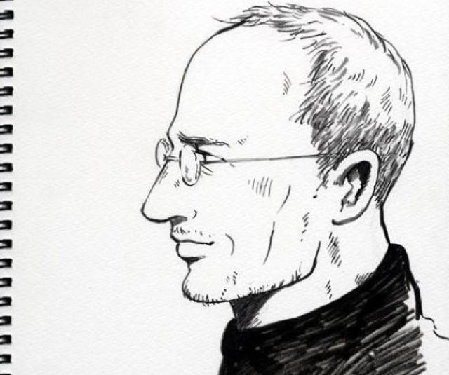 Steve Jobs série em manga (Divulgação)