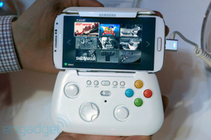 samsung galaxy s4 gaming controller (engadget)