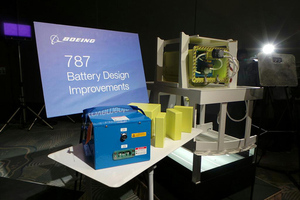 Boeing 787 Dreamliner battery redesign (@daiwaka TWITTER)