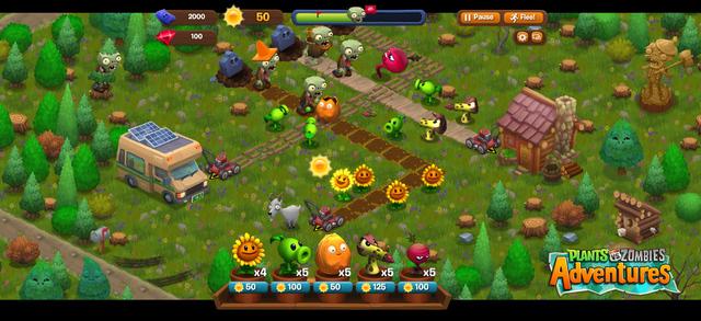 اللعبه Plants vs. Zombies قادمه إلى الفيسبوك PvZA_screenshot_1_la