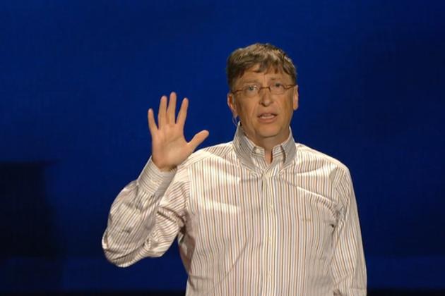 Bill Gates, 18-year-old