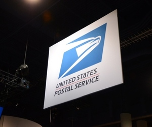 USPS Postal Service logo stock