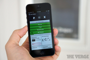 Evernote 5.0 for iOS