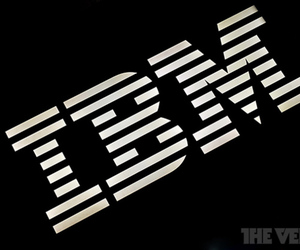 IBM logo stock
