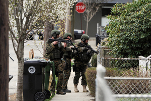 GETTY Boston manhunt SWAT team