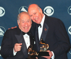 mel brooks carl reiner (shutterstock)