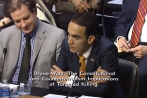 Drone hearing: Farea al-Muslimi