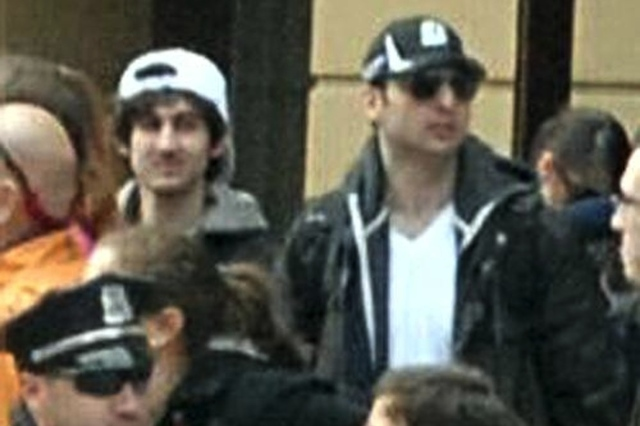 Boston Bomber suspects FBI