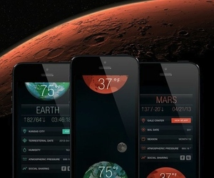 Sol app interplanetary weather (Credit: Ingenology)