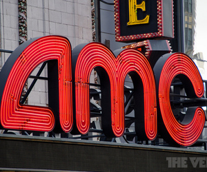 AMC movie theater logo (STOCK)