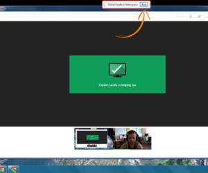 Google+ remote desktop