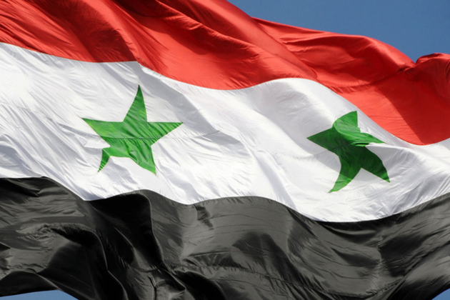 The_flag_of_syrian_arab_republic_damascus__syria_large