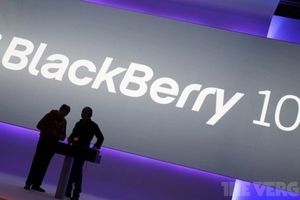BlackBerry 10 stock