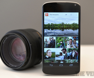 Google+ Plus Android photos (STOCK)