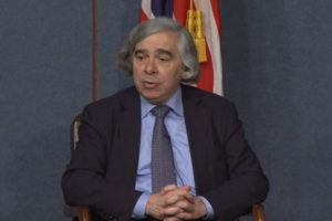 Energy Secretary Ernest Moniz (Credit: US Department of Energy/YouTube)