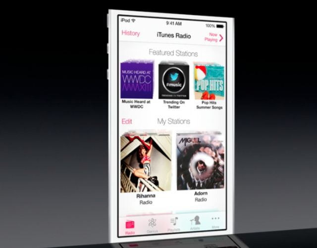 Apple iRadio. Image via The  Verge