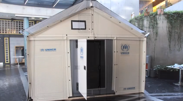 IKEA partners with the UN to produce more innovative and durable refugee shelters