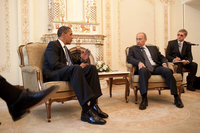 Obama and Putin (via White House Flickr)