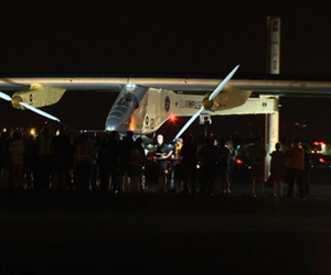 Solar Impulse JFK