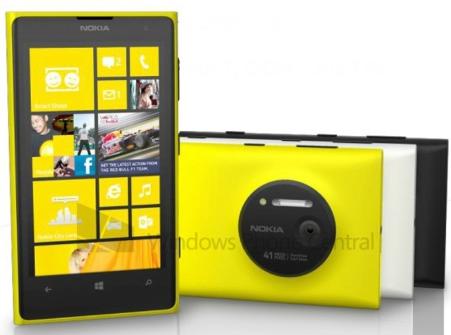 Lumia 1020 render WP Central