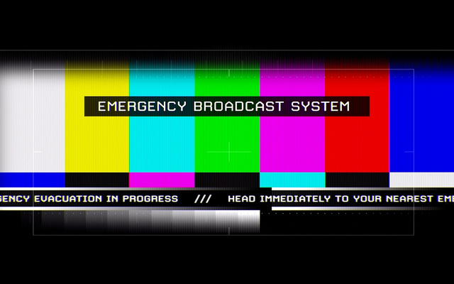 Emergency Broadcast System (Flickr)