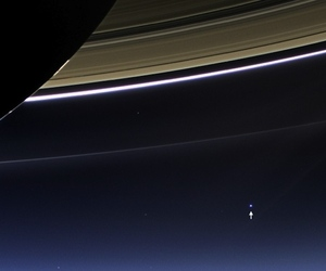 Earth from Saturn (Credit:  NASA/JPL-Caltech/Space Science Institute)