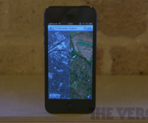 iPhone 5 Maps error