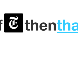 IFTTT if this then that NYT