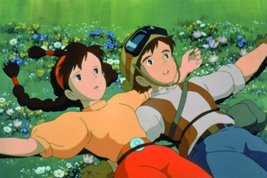 castle in the sky (studio ghibli credit(
