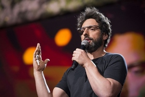 Sergey Brin at TED