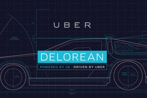 Uber DeLorean promotion