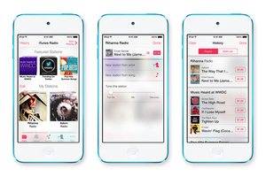 ios 7 music iradio press
