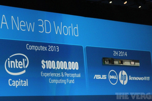intel 3d camera bezel idf 2013